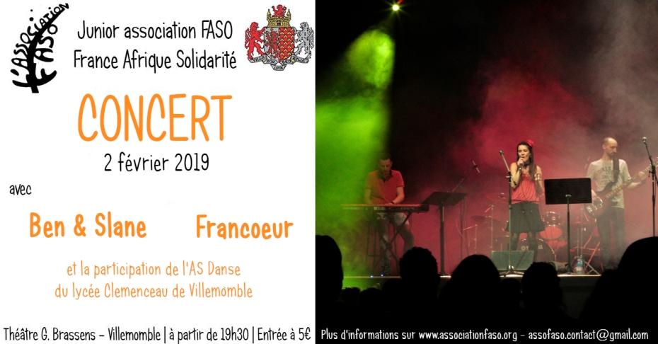 bannière concert février 2019
